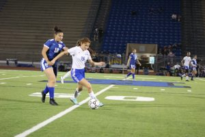 Lady Falcon Varsity Soccer vs King 2-15-19