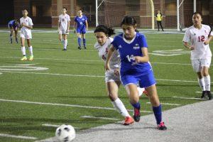 Lady Falcon JV Soccer vs North Shore 2-22-19