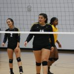 Girls Varsity Volleyball defeats Westbrook 3 – 0