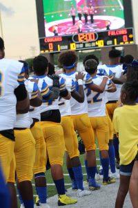 Varsity Football vs Nimitz 8-30-19