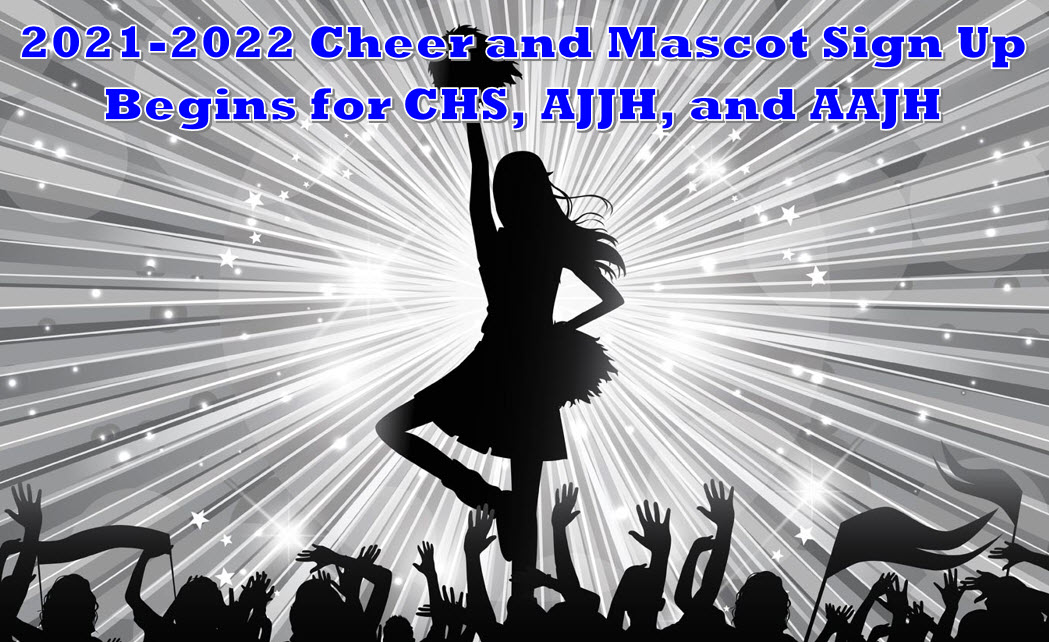2021-2022 Cheerleader and Mascot Sign Up Information
