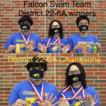 Falcon Swim Team Advances to Regionals