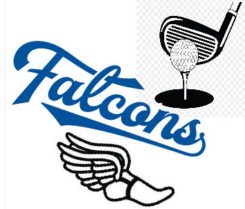 Falcons Advance in Track and Golf
