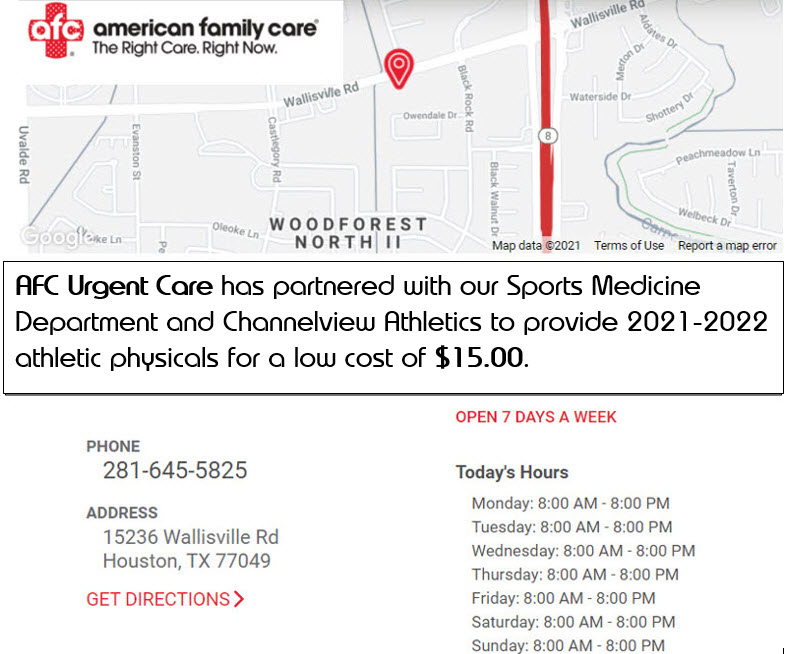 AFC Urgent Care Partners with Athletics