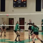 EHS Volleyball Sweeps Laurens