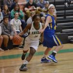Easley High School Girls Varsity Basketball falls to Wren High School 29-42