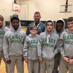 EHS Wrestling Wins Big Over Carolina HS