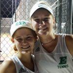 Easley High School Girls Varsity Tennis beat Powdersville High School 5-2