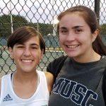 Easley High School Girls Varsity Tennis beat Powdersville High School 4-3