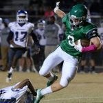 Eight Green Wave Football Players Earn All-Region 1 Honors