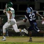 Easley High School Varsity Football beat J L Mann High School 35-0