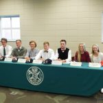 Seven EHS Athletes Sign Scholarship Papers