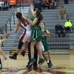 Girls Basketball Falls in Playoffs