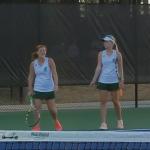 Girls Tennis Playoff Action