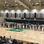 EHS Basketball Teams Celebrate 11 Seniors
