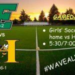 Girls Soccer takes on Hanna tonight 3/30