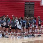 Girls Varsity Volleyball defeats Wren in straight sets
