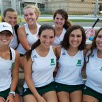 Girls Varsity Tennis falls to T L Hanna 6-0