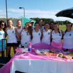 Girls Varsity Tennis loses to T L Hanna 7-0
