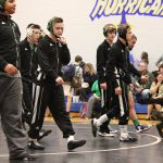 Boys Varsity Wrestling beats Powdersville 39 – 38