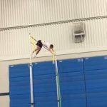 Taylor Boyles breaks his EHS pole vault record