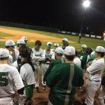 Boys Varsity Baseball falls to JL Mann 5 – 1