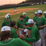 Boys Varsity Baseball falls to JL Mann 5 – 4