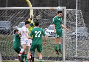 Photo Gallery: Varsity Boys Soccer vs Wade Hampton 4/5