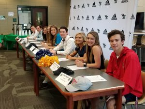 Photo Gallery: Spring Signing Ceremony