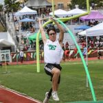 Taylor Fox wins Junior Olympic Pole Vault