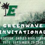 Green Wave Invitational on Saturday!