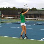 Girls Varsity Tennis falls to T.L. Hanna 7 – 0