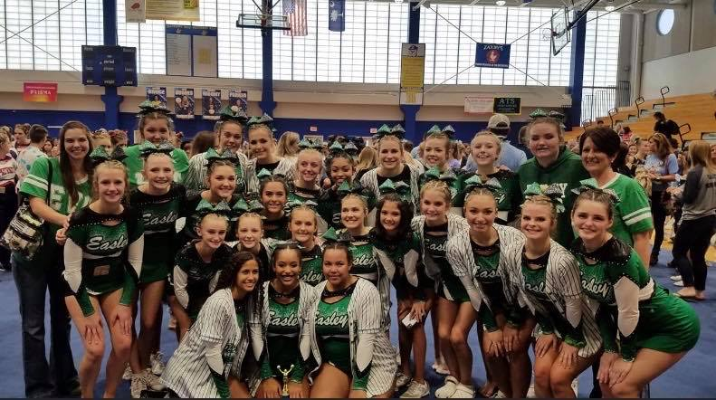 Competition Cheer places 1ST at Devildog Invitational