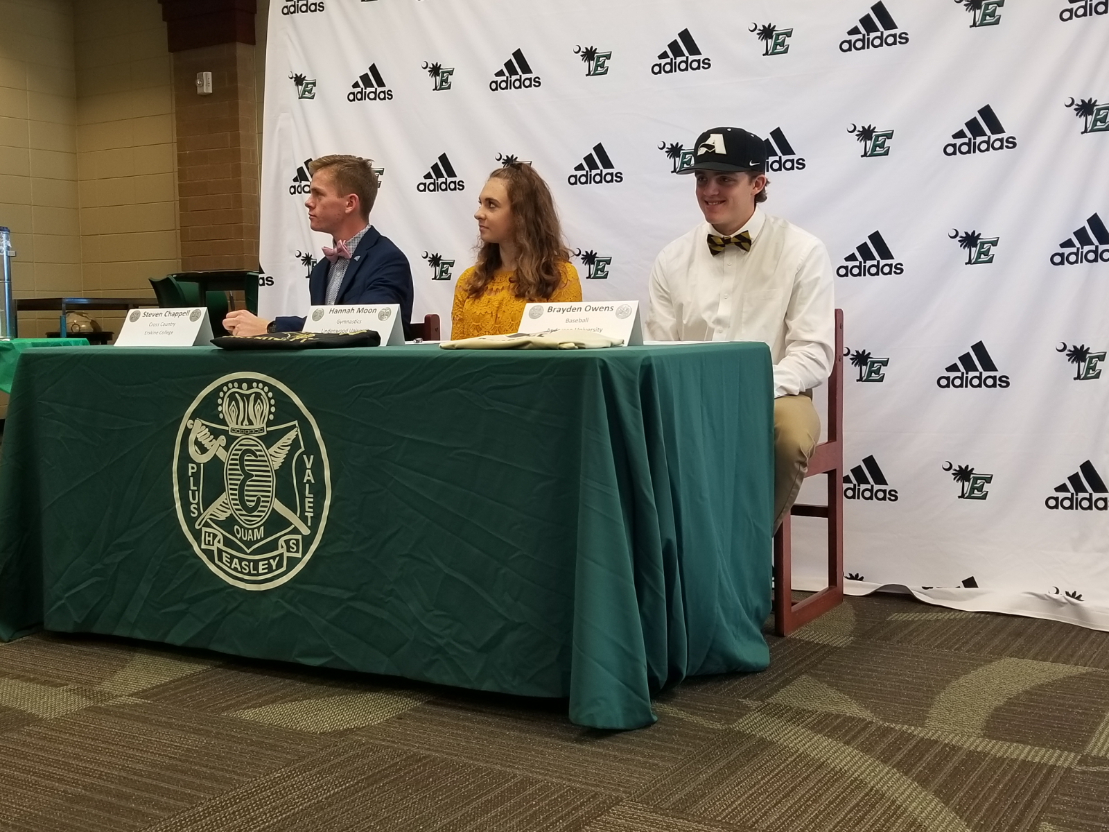 Fall Signing Day at Easley High School