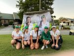 Girls Varsity Golf beats Travelers Rest 211 – 230 on Senior Night