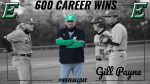 Coach Gill Payne wins 600th Career Game