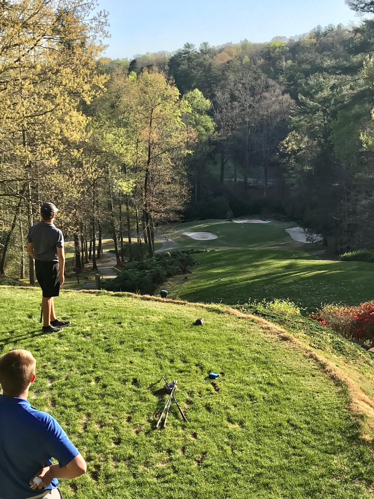 PHOTO GALLERY: Varsity Golf at THE ROCK