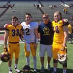 3 former DeWitt Panthers suited up for CMU's Spring game