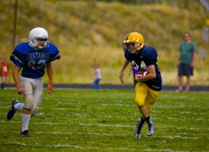 MS Football vs Fitzsimmons 9/2/15