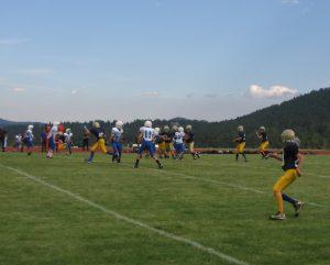 MS Football vs Fitzsimmons 9/1/16