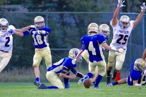 HS Football vs Lake County 9/2/16