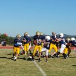 Clear Creek Middle School Football falls to Pinnacle MS 22-0
