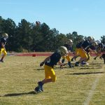 Clear Creek Middle School Football beat Gilpin MS 34-12