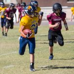 Glendale Preparatory Academy Middle School Football falls to Odyssey Institute 40-14