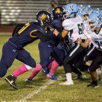 Glendale Preparatory Academy Varsity Football beat Veritas Preparatory Academy game at Cortez High School 40-8