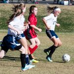 Girls Middle School Soccer beats Chandler Preparatory Academy 3 – 0