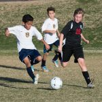 Boys Middle School Soccer beats Chandler Preparatory Academy 4 – 3