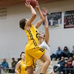 Girls Varsity Basketball falls to Sedona Red Rock 55 – 28