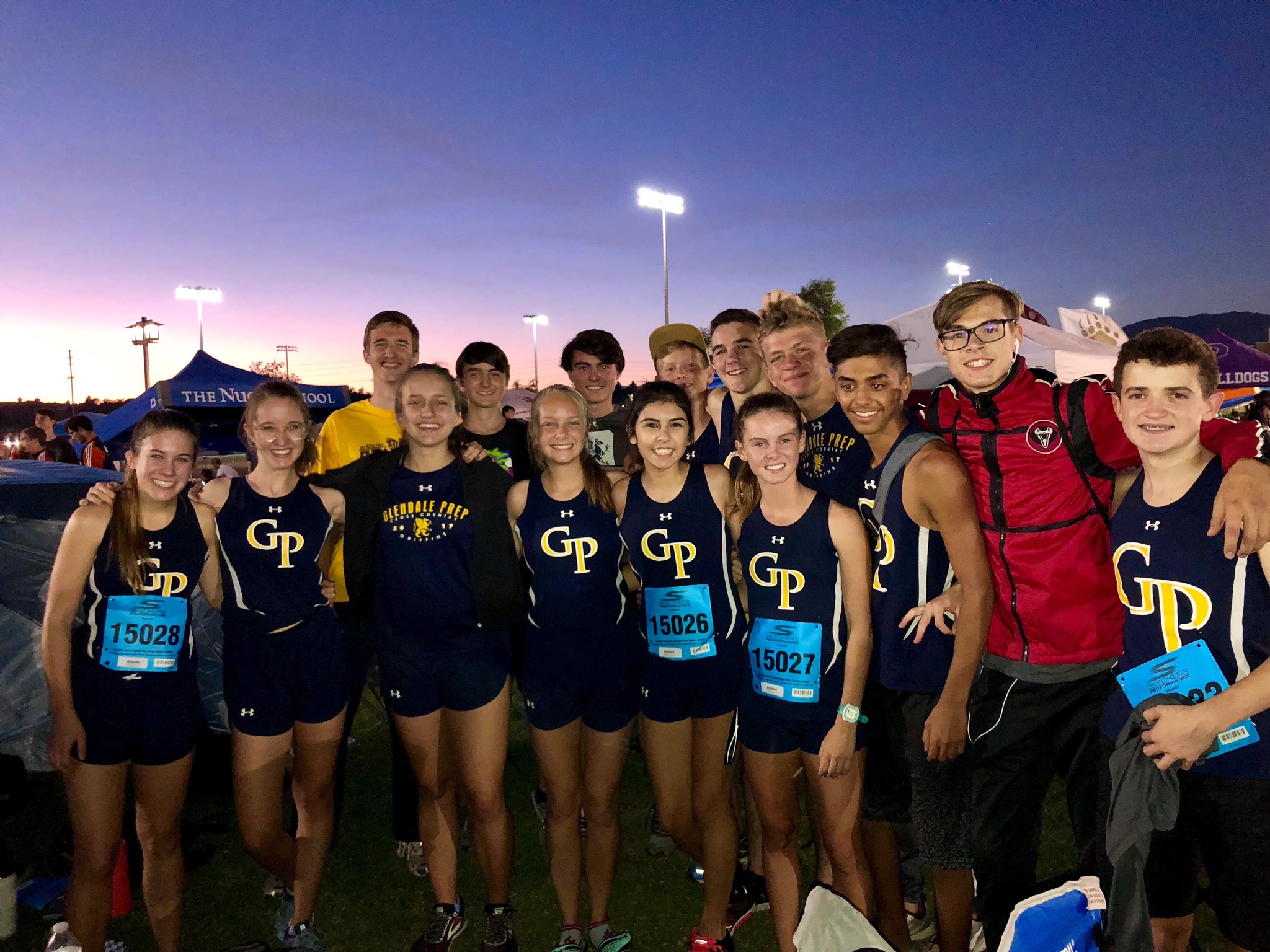 Cross Country competes in California