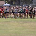 girls cross country running